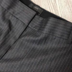 J. Crew Pinstripe Capri Dress Pants 00P Fit